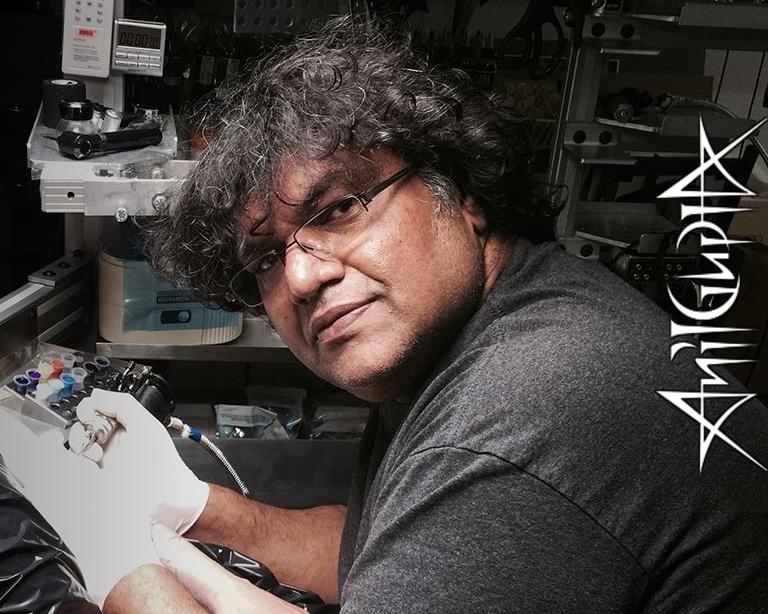 Anil Gupta Tattoo artist Participant in New Delhi