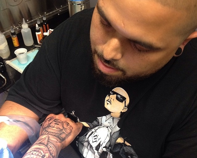 David Vega Tattoo artist Participant in New Delhi