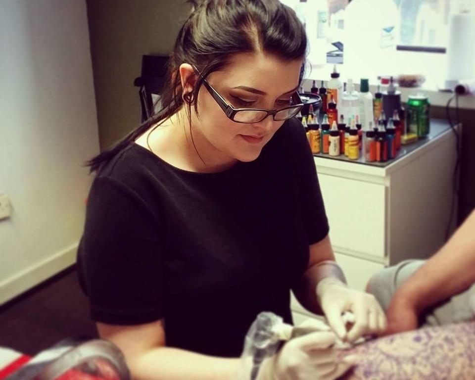 Claire griffin Tattoo artist Participant in New Delhi