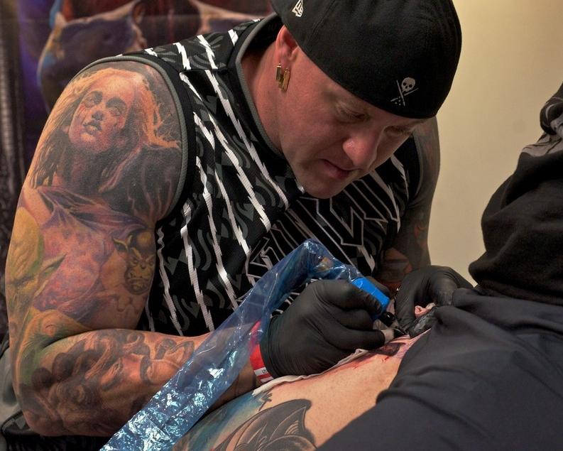Randy Engelhard Tattoo artist Participant in New Delhi