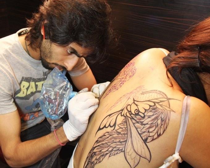 Mickey Malani Tattoo artist Participant in New Delhi