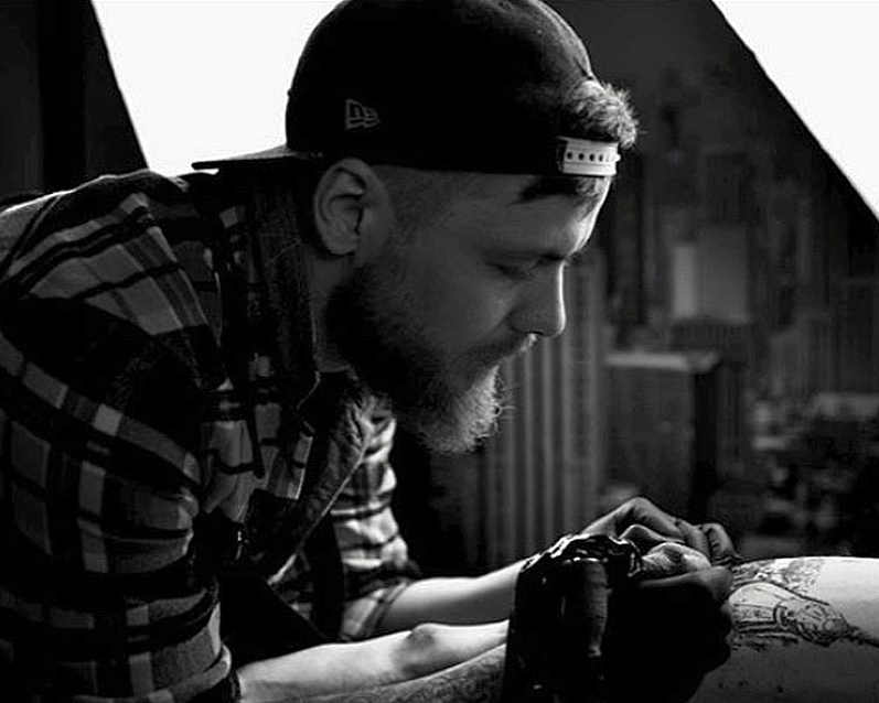 Alex Belyakoff Tattoo artist Participant in New Delhi