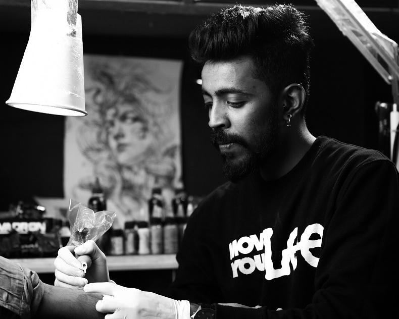 Shashi Tattoo artist Participant in New Delhi
