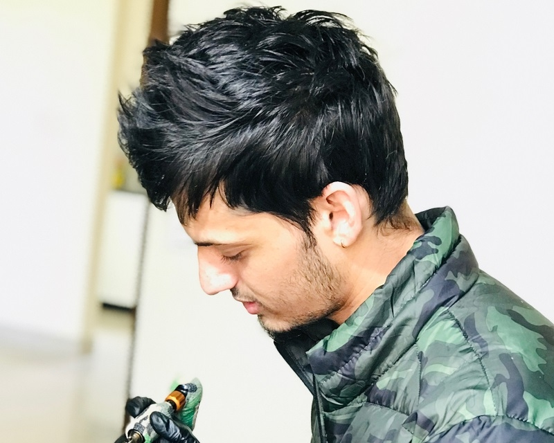 Pawandeep Singh Tattoo artist Participant in New Delhi